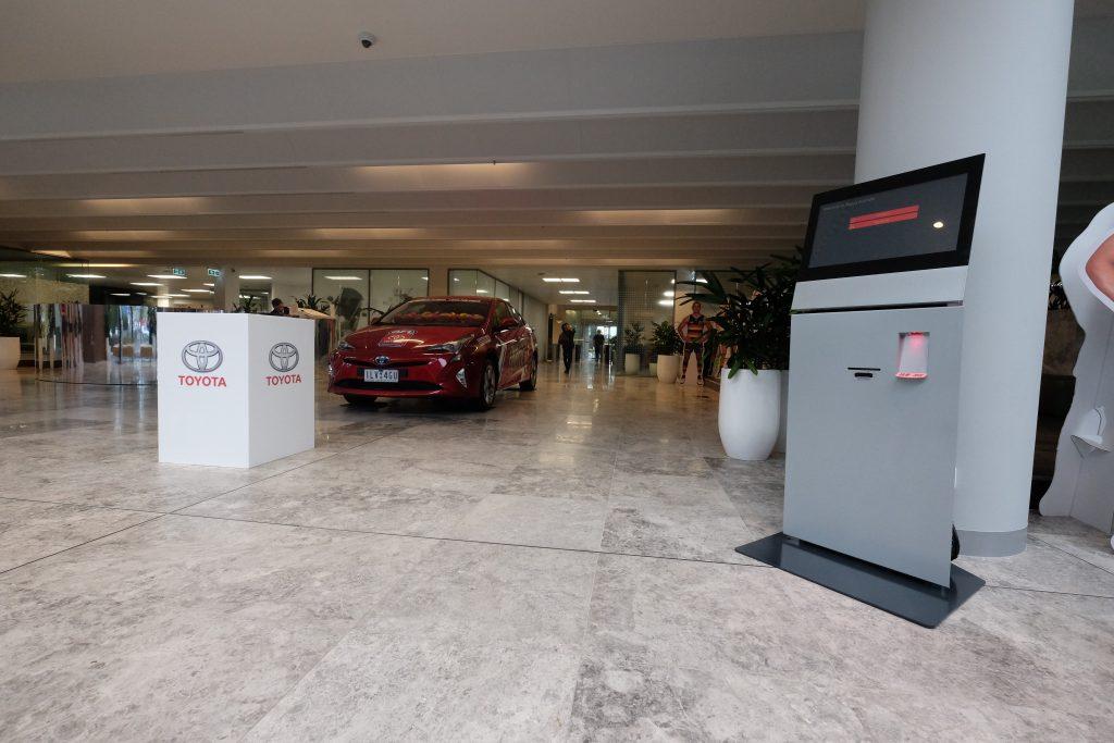 Streamline Visitor Registration Process for Toyota