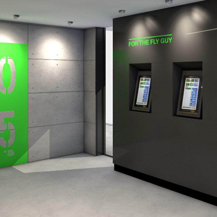 Ubet Tabcorp Self-Service Wagering Terminal display